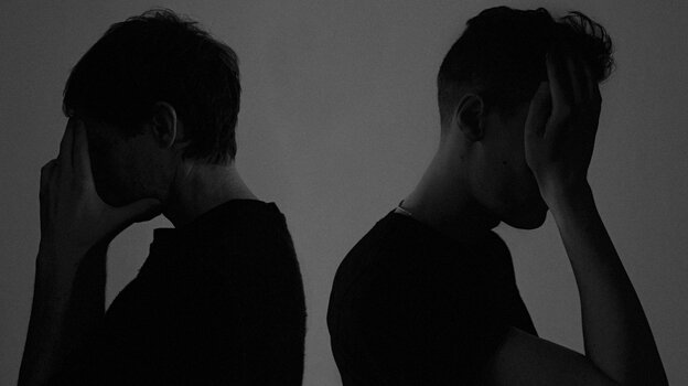 Rhye is the duo of Mike Milosh and Robin Hannibal. Their debut album is called Woman.