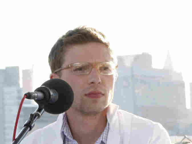 Jonah Lehrer attends a panel discussion in conjunction with the World Science Festival in 2008.