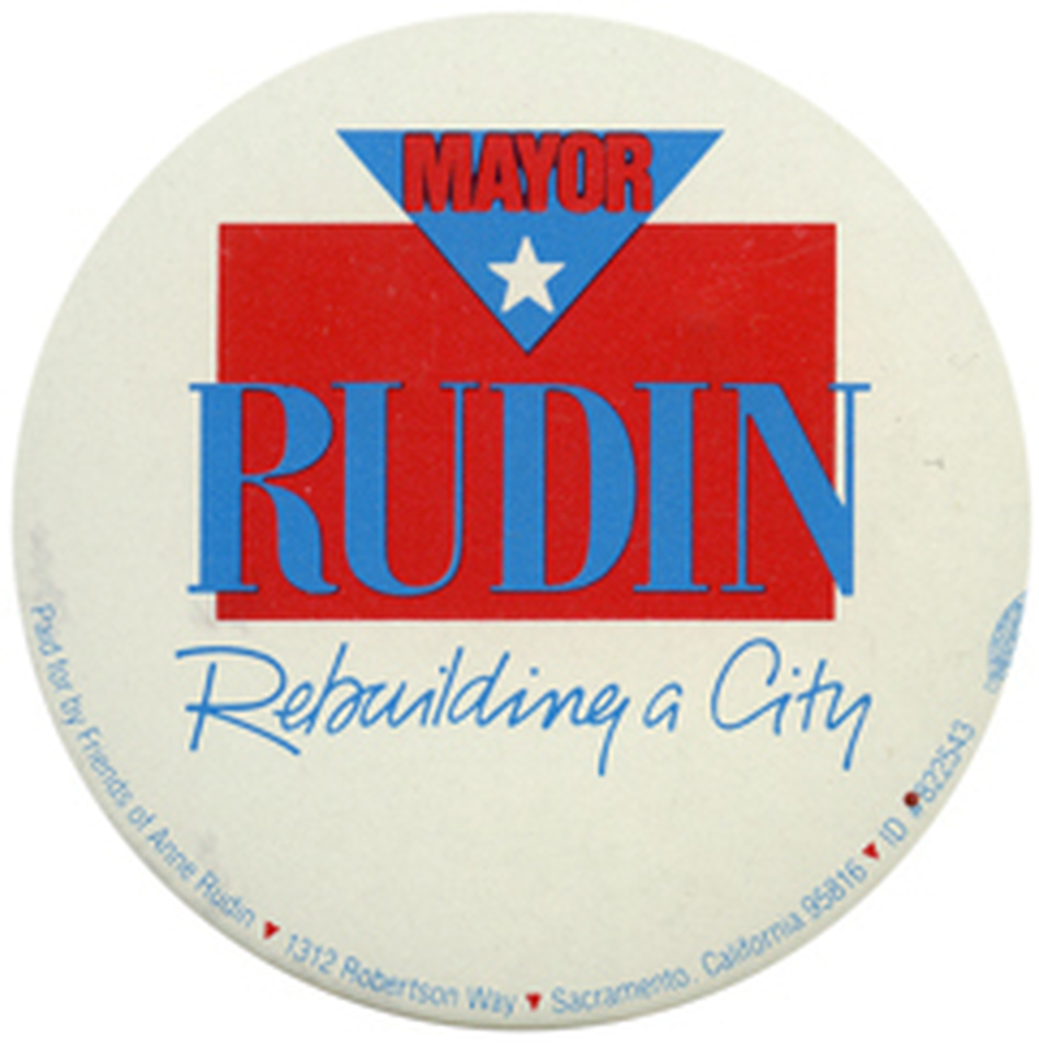 There are not enough Rudins in politics. (Ken Rudin collection )