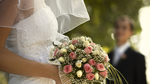 A wedding ceremony: as close as many of us get to the theatrical stage. (iStock)