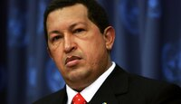 Venezuelan President Hugo Chavez in 2006.