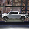 Ford unveils the F-150 Atlas concept pickup during January's North American International Auto Show in Detroit. Experts say the boom in construction will boost pickup sales.