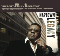 "Cover art to ""Killer"" Ray Appleton's new album Naptown Legacy."