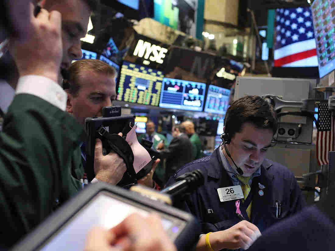 Related: The floor of the New York Stock Exchange is increasingly irrelevant to the stock market. But a picture of a room full of computers would be super boring.