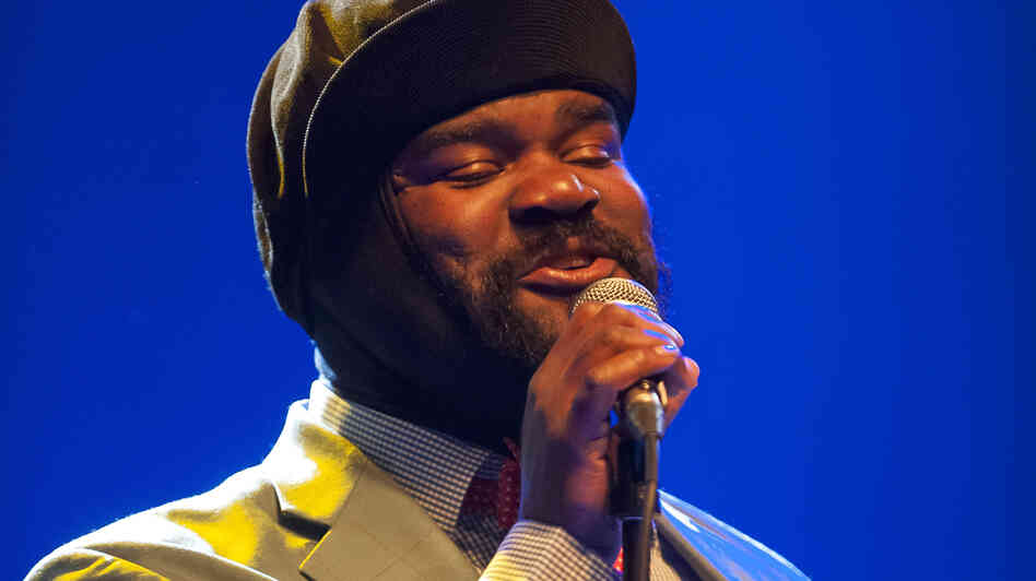 Gregory Porter performs at the 2012 Strings of Autumn International Music Festival in Prague.