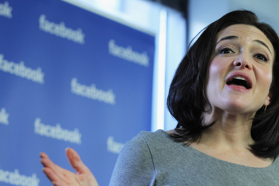 Facebook Chief Operating Officer Sheryl Sandberg speaks in December 2011 in New York City. (Spencer Platt/Getty Images)