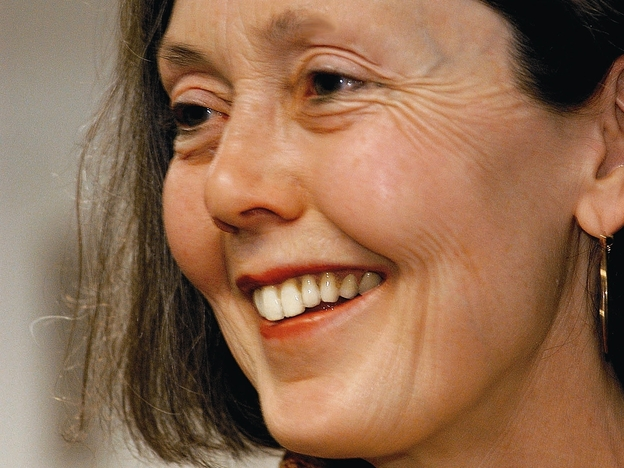 Anne Carson's newest book is called <em>Red Doc>. </em>