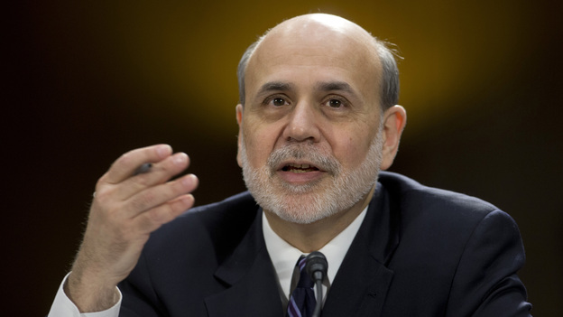 Federal Reserve Chairman Ben Bernanke testifies before the Senate Banking Committee in Washington last month. Some analysts wonder if he and other policymakers have kept interest rates too low for too long. (AP)