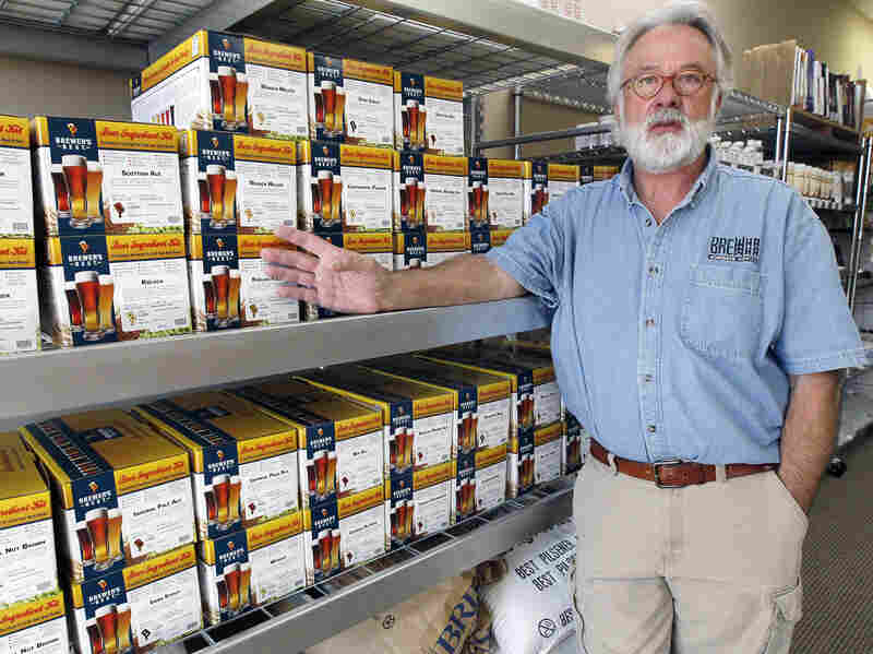"Brewing beer at home, which had occupied a ""gray area"" in Mississippi, is on its way to being legal. Pictured is Mac Rusling, who opened a home-brew-supply store in Jackson several months ago."
