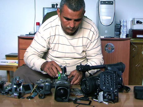 Was a story about a Palestinian documentary filmmaker bias against the Palestinian side?