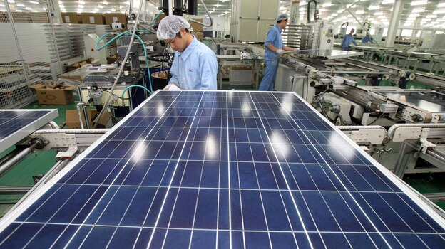 As BP leaves the solar industry, Asian countries such as China are taking a lead role in production. (AP)