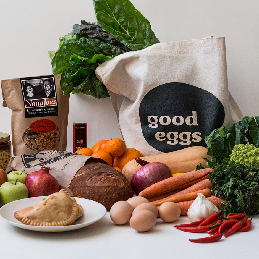 Good Eggs lets consumers order a variety of locally made, artisanal products online: from meat and produce to baked goods and even baby foods.