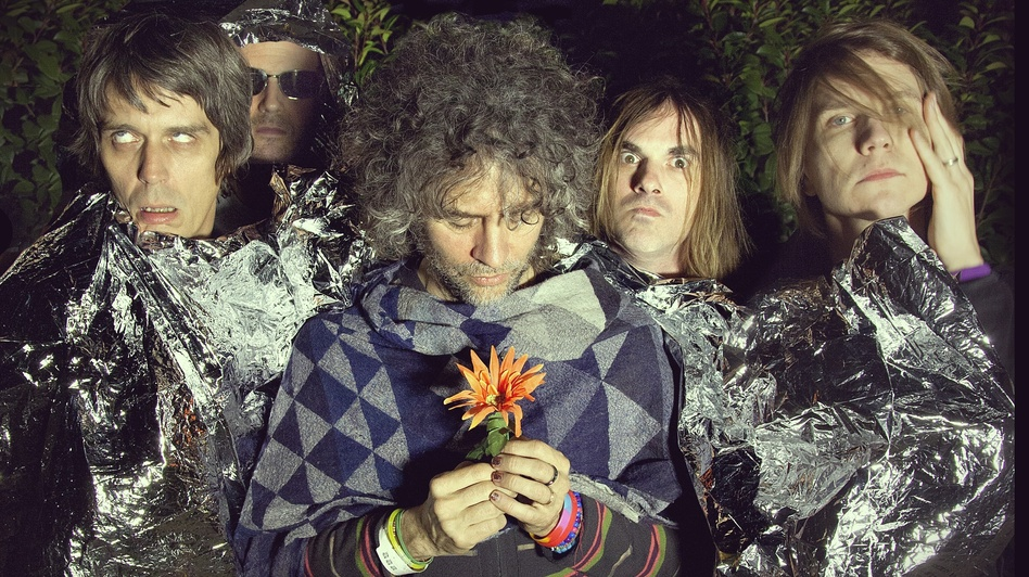 The Flaming Lips' new album, The Terror, comes out April 16. (Courtesy of the artist)