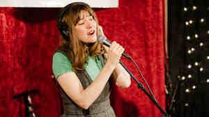 Becky Stark of Lavender Diamond performs live on KEXP.