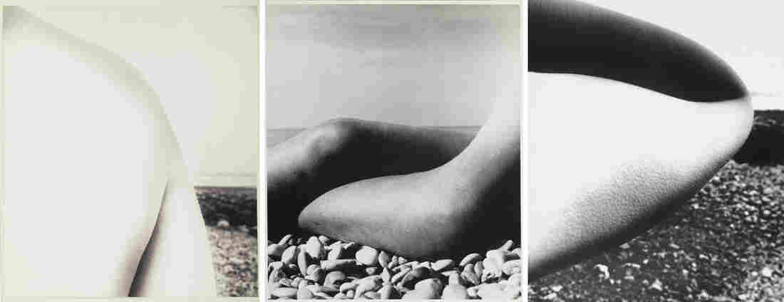 (right and left) East Sussex Coast, 1959. (middle) Baie des Anges, France, 1959