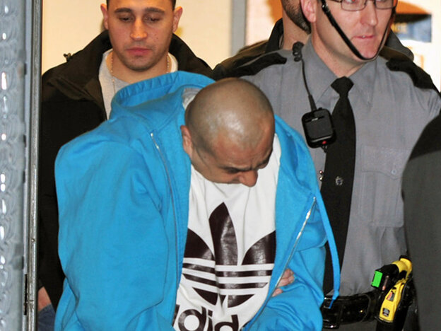 Julio Acevedo surrendered to authorities in Pennsylvania on Wednesday.