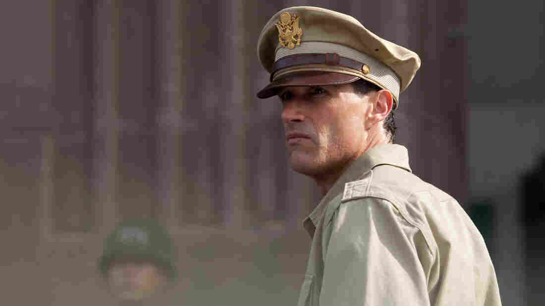 Gen. Bonner Fellers (Matthew Fox) is the cheerless, angsty romantic lead in a historical drama that could have leaned more toward accuracy in its depiction of post-war Japan.
