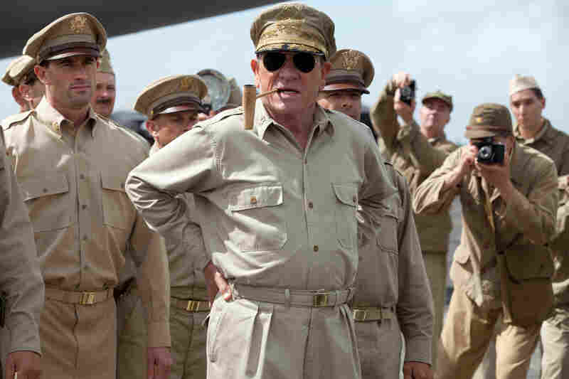 Gen. Douglas MacArthur (Tommy Lee Jones) may be the biggest military brass in Emperor, but he receives far less screen time than this larger-than-life persona deserves.