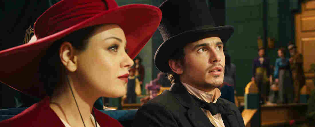 Theodora (Mila Kunis) is the first person the young conjuror Oscar (James Franco) meets when he lands in the mystical, magical Land of Oz.