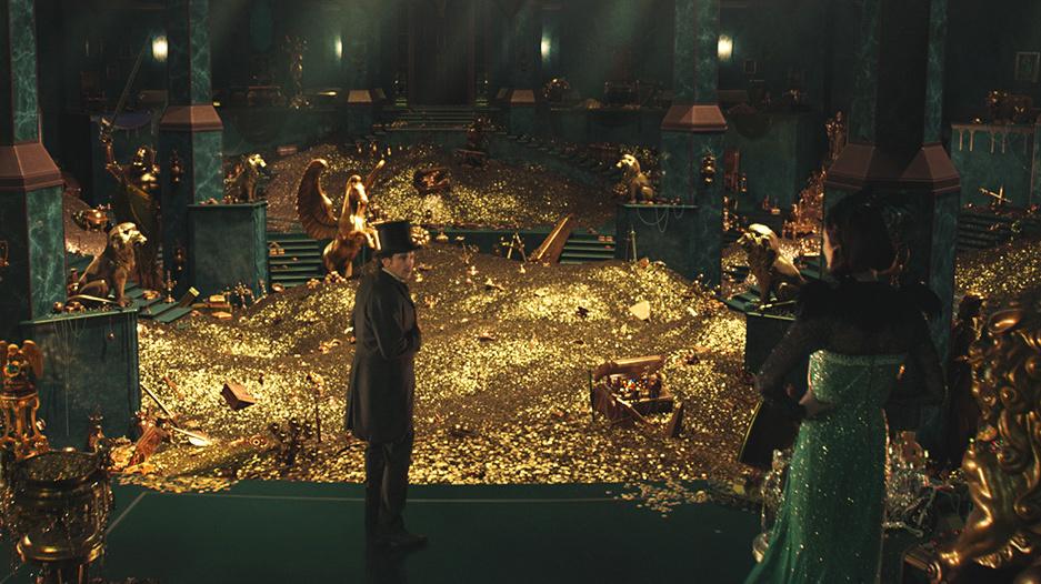 Dragon Engine Ring Scene Menu: 'Oz The Great And Powerful' : NPR