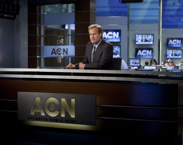The Newsroom, starring Jeff Daniels, is one of the most popular Ame