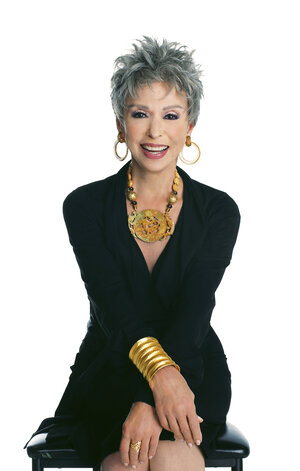 Rita Moreno gray hair