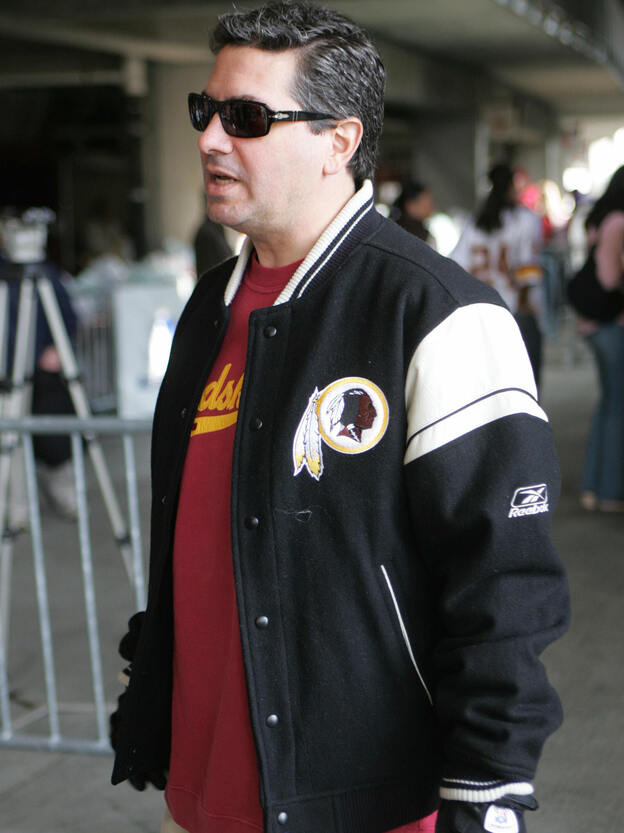 Owner Dan Snyder's Washington Redskins team faces a challenge from Native Americans over its right to trademark the name, which they say is offensive.