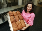 Michele Kelly, owner of Pure Knead bakery in Decatur, Ga., is one of many businesspeople catering to soaring demand for gluten-free baked goods.