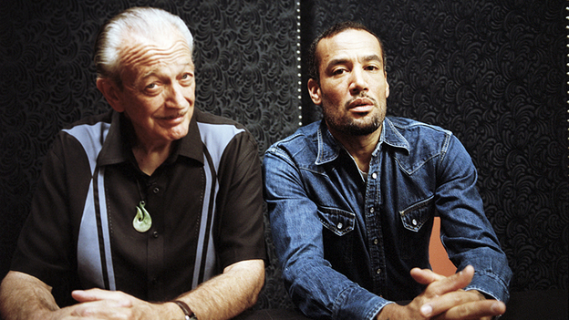 Charlie Musselwhite and Ben Harper. (Courtesy of the artist)