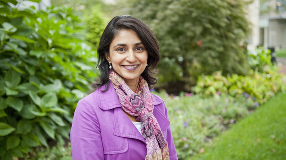 Rupal Patel is a speech scientist at Northeastern University. (Courtesy of Mary Knox Merrill/Northeastern University)