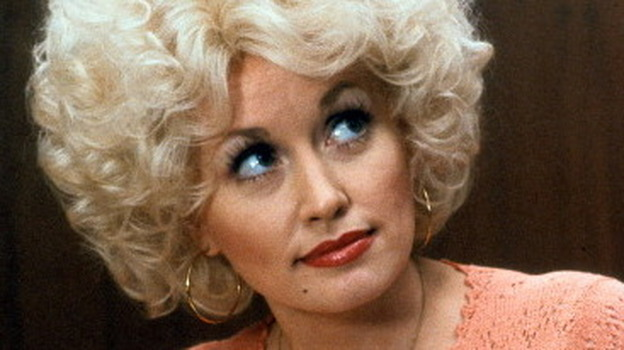 Dolly Parton in a scene from the film 9 to 5. (Getty Images)
