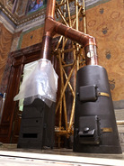 The stoves installed inside the Sistine Chapel will be used to burn votes as they are tallied as well as signal to outside world, via black or white smoke, whether or not a new pope has been elected.