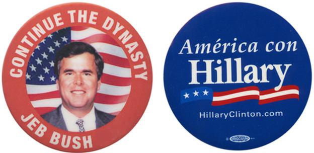 Ready for another Bush vs. Clinton election? (Ken Rudin collection )