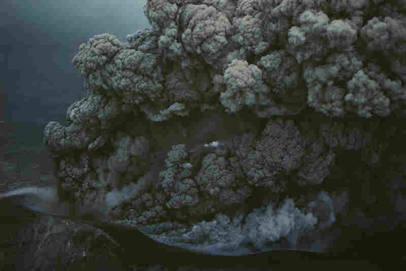 Eruption at Mount Tokachi, Hokkaido Prefecture, Japan, 1962