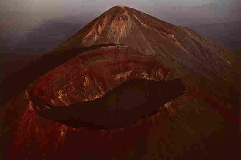 Peaks of Takachiho Volcano, Kagoshima and Miyazaki Prefectures, Japan, 1964