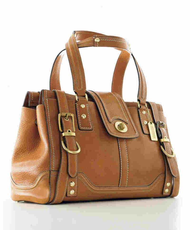 Lillian Cahn was the force behind Coach's leather handbags, which today include this high-end Hamptons Vintage Carryall.