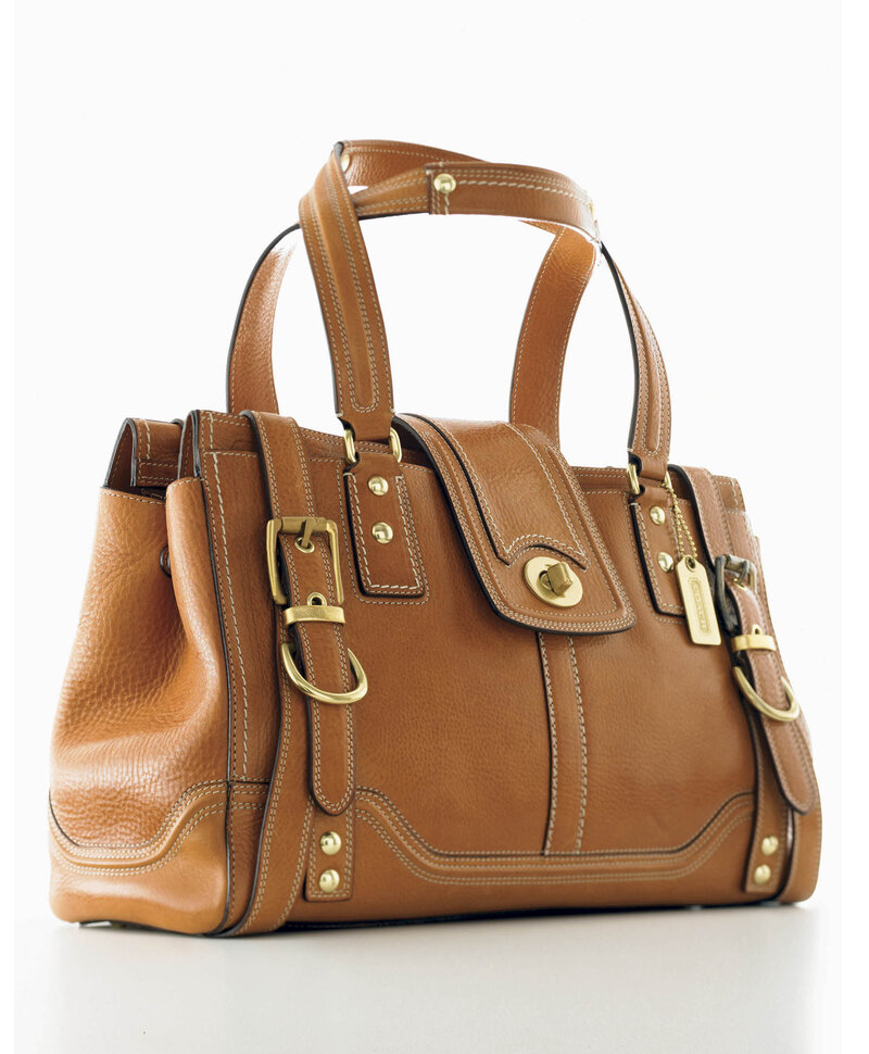 Lillian Cahn Was The Force Behind Coach S Leather Handbags Which Today Include This High End Hamptons Vintage Carryall Ap Hide Caption