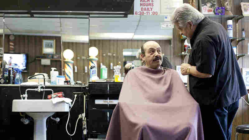 A Retired Chicago Cop's Second Act Is At A Barbershop