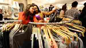 """Prices at stores like Forever 21 are so low, """"it's virtually impossible to walk out empty-handed,"""" says Elizabeth Cline, who writes about fast fashion."""