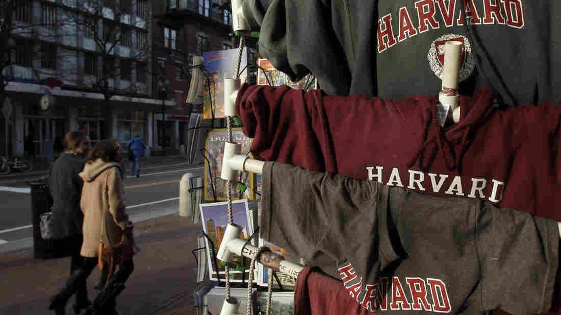 Harvard Square in Cambridge, Mass.