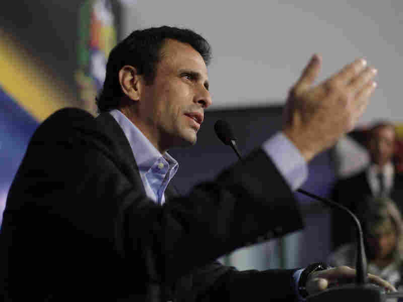 Opposition leader Henrique Capriles accused Maduro of using Chavez's funeral to campaign for the presidency.