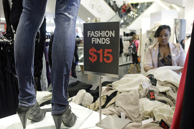 """Clothing chains like H&M (above) and Forever 21 design and distribute new styles so quickly and cheaply, they've been dubbed """"fast fashion"""" retailers."""