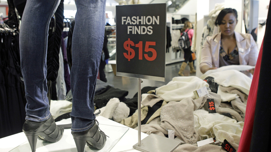 "Clothing chains like H&M (above) and Forever 21 design and distribute new styles so quickly and cheaply, they've been dubbed ""fast fashion"" retailers. (AP)"