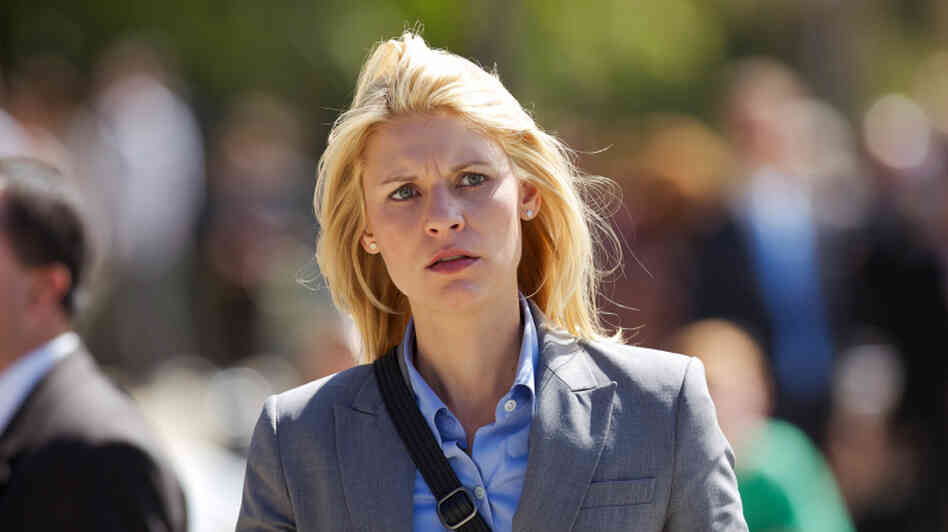 Claire Danes plays Carrie Mathison on Showtime's Homeland.