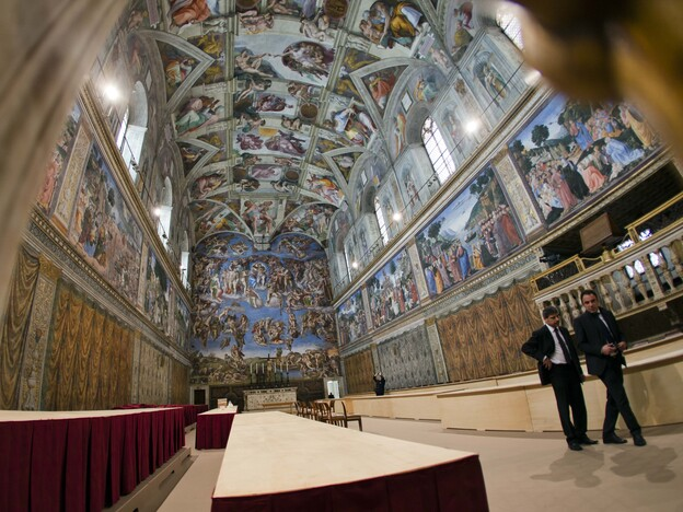 The 115 cardinals participating in the conclave will gather inside the Sistine Chapel to cast their ballots for the new pope of the Roman Catholic Church.