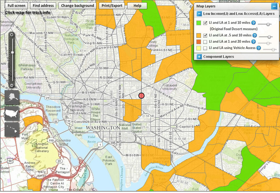 How To Find A Food Desert Near You The Salt NPR - Us food desert map