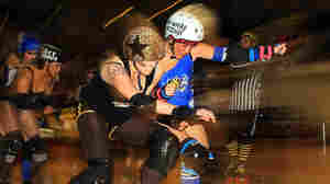 Roller Derby Players Swap Bacteria (And Shoves) On The Track