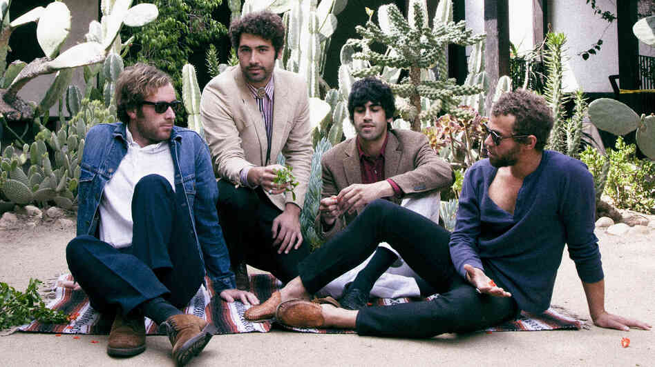 Los Angeles garage rockers Allah-Las.
