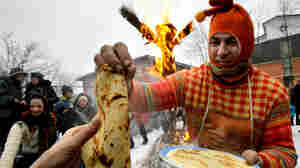 It's Russian Mardi Gras: Time For Pancakes, Butter And Fistfights