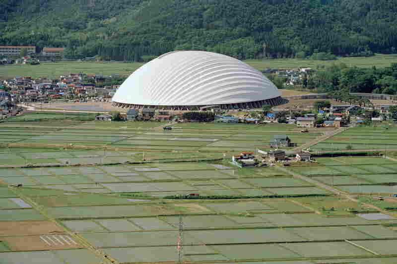 Dome in Odate (multipurpose dome), Odate-shi, Akita, Japan